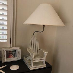 "Ballard Designs Accents - Ballard Designs ""Beach House Lamp"" +Starfish+Frame"